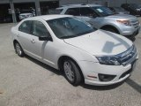 2011 White Suede Ford Fusion S #112863044