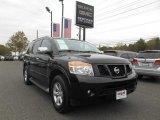 2012 Galaxy Black Nissan Armada SV 4WD #112862865