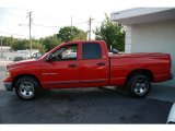 2002 Flame Red Dodge Ram 1500 SLT Quad Cab #11266834