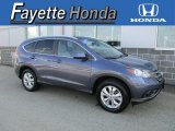 2013 Twilight Blue Metallic Honda CR-V EX-L AWD #112863276