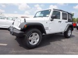 2016 Bright White Jeep Wrangler Unlimited Sport 4x4 #112893462