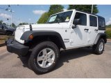 2016 Bright White Jeep Wrangler Unlimited Sport 4x4 #112893458