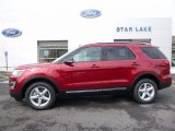2016 Ruby Red Metallic Tri-Coat Ford Explorer XLT 4WD #112893654