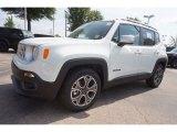2016 Alpine White Jeep Renegade Limited #112893455