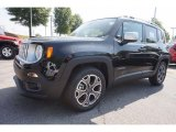 2016 Black Jeep Renegade Limited #112893454