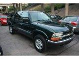 2002 Chevrolet S10 LS Crew Cab 4x4 Front 3/4 View