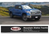 2016 Blazing Blue Pearl Toyota Tundra SR5 CrewMax 4x4 #112893273