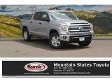 2016 Silver Sky Metallic Toyota Tundra SR5 CrewMax 4x4 #112893269