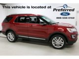 2016 Ruby Red Metallic Tri-Coat Ford Explorer XLT 4WD #112893202