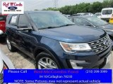 2016 Blue Jeans Metallic Ford Explorer XLT #112920975
