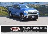 2016 Blazing Blue Pearl Toyota Tundra SR5 CrewMax 4x4 #112920920