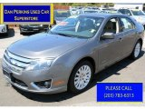 2010 Sterling Grey Metallic Ford Fusion Hybrid #112920907
