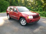 2006 Inferno Red Crystal Pearl Jeep Grand Cherokee Laredo #11262492