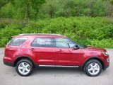 2016 Ruby Red Metallic Tri-Coat Ford Explorer XLT 4WD #112949049