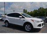 2013 White Platinum Metallic Tri-Coat Ford Escape SE 1.6L EcoBoost 4WD #112949119