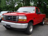 1996 Ford F150 XL Regular Cab 4x4 Front 3/4 View