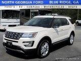 2016 White Platinum Metallic Tri-Coat Ford Explorer XLT 4WD #112948871