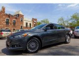 2015 Magnetic Metallic Ford Fusion Titanium #113001529