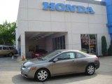 2007 Galaxy Gray Metallic Honda Civic LX Coupe #11255459