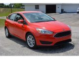 2015 Race Red Ford Focus SE Hatchback #113007782