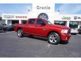 2014 Deep Cherry Red Crystal Pearl Ram 1500 Express Crew Cab 4x4 #113007675