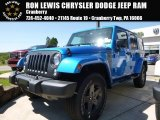 2016 Hydro Blue Pearl Jeep Wrangler Unlimited Sport 4x4 #113007618
