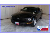 2005 Black Ford Mustang V6 Deluxe Coupe #11267791