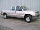 2004 Silver Birch Metallic Chevrolet Silverado 1500 LS Extended Cab 4x4 #1085835