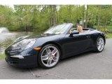 2012 Dark Blue Metallic Porsche 911 Carrera S Cabriolet #113033718