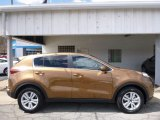 2017 Burnished Copper Kia Sportage LX AWD #113033776