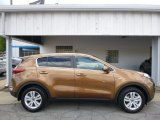 2017 Burnished Copper Kia Sportage LX AWD #113033774