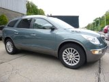 Silver Green Metallic Buick Enclave in 2009