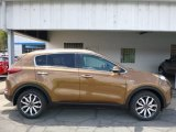 2017 Burnished Copper Kia Sportage EX AWD #113033770