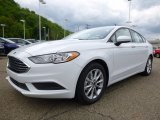 2017 Ford Fusion Oxford White