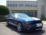 2009 Vista Blue Metallic Ford Mustang Shelby GT500 Coupe #11257062