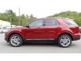 2016 Ruby Red Metallic Tri-Coat Ford Explorer XLT 4WD #113033860