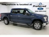 2016 Blue Jeans Ford F150 XLT SuperCrew 4x4 #113033576