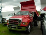 2008 Ford F650 Super Duty Red