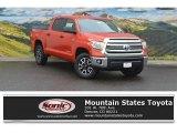 2016 Inferno Orange Toyota Tundra SR5 CrewMax 4x4 #113061397
