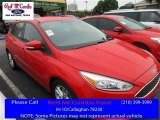 2015 Race Red Ford Focus SE Hatchback #113061506