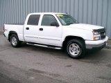 2006 Summit White Chevrolet Silverado 1500 Z71 Crew Cab 4x4 #1093592