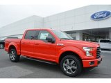 2016 Race Red Ford F150 XLT SuperCrew 4x4 #113061664
