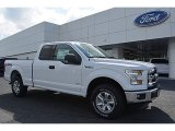 2016 Oxford White Ford F150 XLT SuperCab 4x4 #113061658
