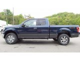 2016 Blue Jeans Ford F150 XLT SuperCab 4x4 #113061704