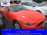 2015 Competition Orange Ford Mustang V6 Coupe #113094276