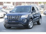 2016 Blue Jeans Metallic Ford Explorer XLT 4WD #113094355