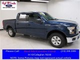 2016 Blue Jeans Ford F150 XLT SuperCrew #113122055