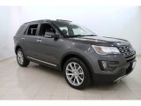 2016 Magnetic Metallic Ford Explorer Limited 4WD #113122353