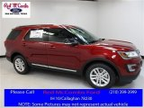 2016 Ruby Red Metallic Tri-Coat Ford Explorer XLT #113122053