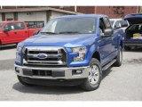 2016 Blue Flame Ford F150 XLT SuperCab 4x4 #113122210
